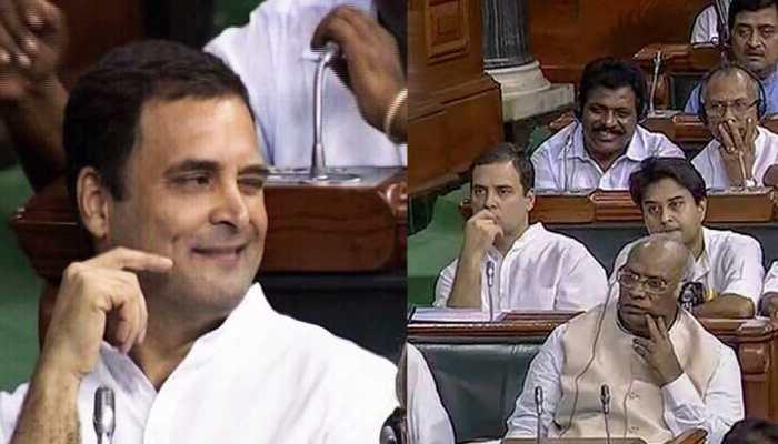 Why Rahul Gandhi Winked in Lok Sabha to Jyotiraditya Scindia and this is the answer