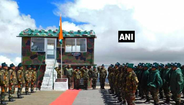 Indian Army and Chinese Army jointly celebrated  72th Independence Day