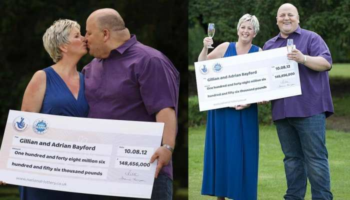 EuroMillions winner Gillian Bayford weds conman convicted of stealing 12 Lakh from Tesco