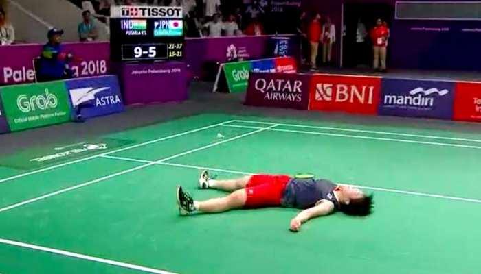 pv sindhu crushed out akona yamaguchi in asian games 2018