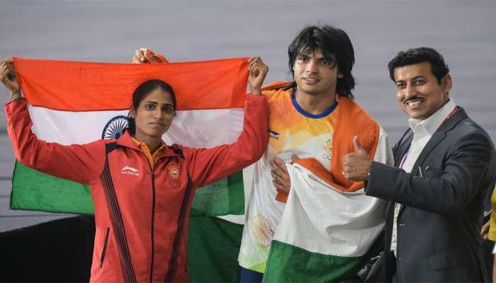 Asian Games 2018, Day 9: Neeraj Chopra wins javelin gold after Dharun, Sudha and Neena win silver in athletics