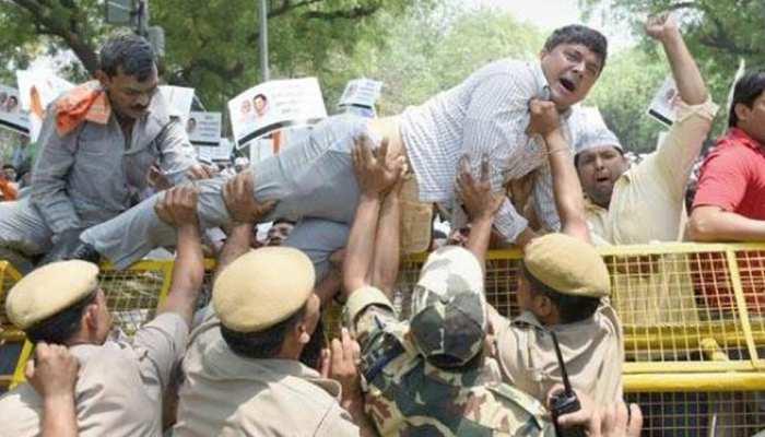 मध्य प्रदेश में SC/ST एक्ट के खिलाफ सवर्णों में आंदोलन तेज, आज ग्वालियर में सबसे बड़ी रैली
