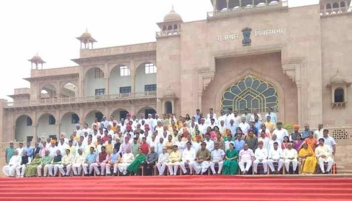 राजस्थान की 14वीं विधानसभा का आखिरी सत्र, PHOTO सेशन