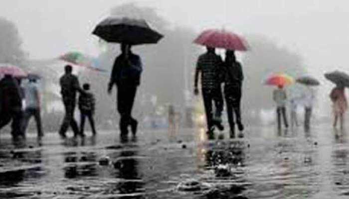 मप्र: कई जिलों में भारी बारिश की चेतावनी, तापमान में बदलाव का दौर जारी