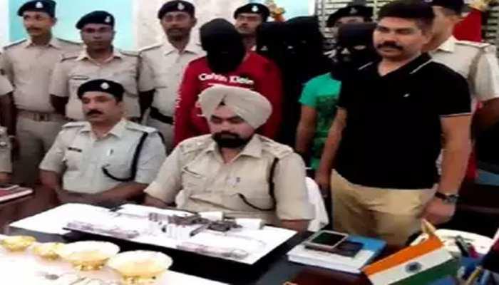 वैशालीः करोड़पति चार डकैत गिरफ्तार, कहा- 'बेटी की स्कूल फीस के लिए की डकैती'