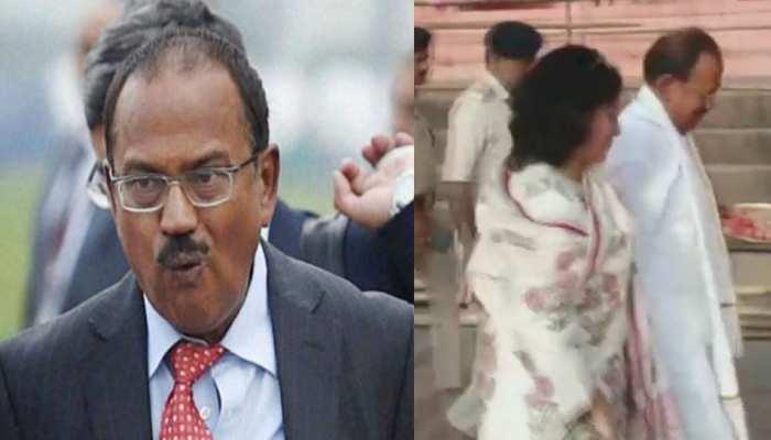 National Security adviser Ajit Doval reached Gaya for Pind daan