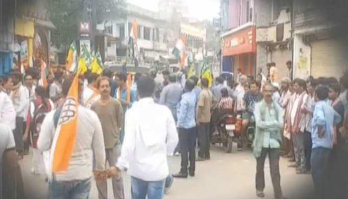 भारत बंद में कुछ ऐसा रहा बिहार का हाल, आगजनी-तोड़फोड़ और जमकर हुआ विरोध प्रदर्शन