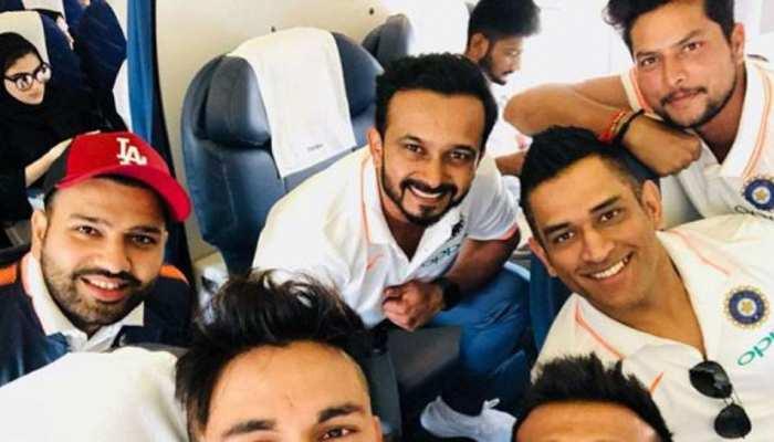 VIDEO: एशिया कप के लिए दुबई पहुंची टीम इंडिया, कुछ ऐसे हुआ स्वागत