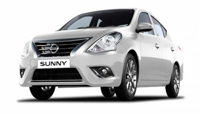 NISSAN launches New sunny, price starts at 6.99 lac rupees