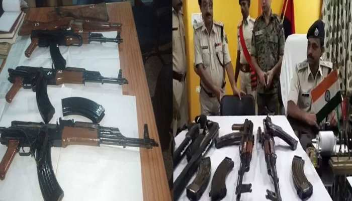 मुंगेर बन रहा है हथियारों की मंडी, दो हफ्तों में मिले हैं 8 AK-47