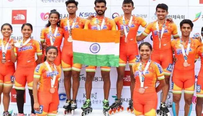 एशियाई रोलर-स्केटिंग चैम्पियनशिप में भारत का दमदार प्रदर्शन, 26 मेडल किए नाम