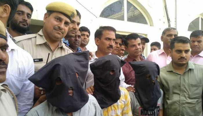 जयपुर: एडिशनल एसपी के सास की हत्या करने वाला गिरोह गिरफ्तार