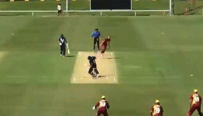 VIDEO: गर्दन पर आकर लगी गेंद, मैदान पर गिर पड़ा ऑस्ट्रेलियाई बल्लेबाज