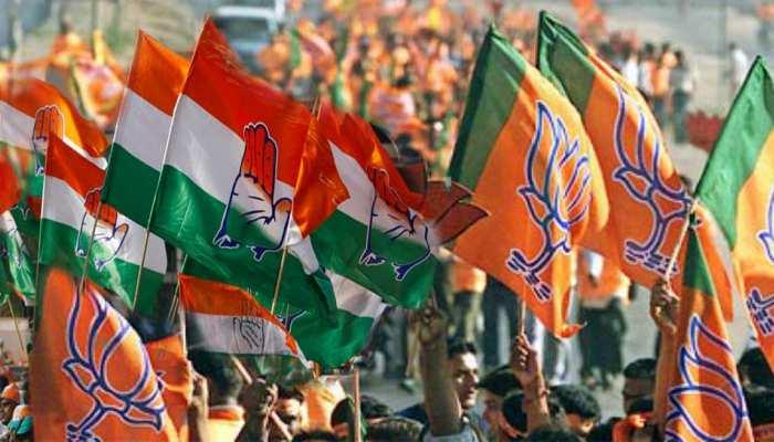 मुस्लिम बाहुल्य सीटों पर सेंध लगाने की तैयारी में BJP, कांग्रेस को आप की चुनौती