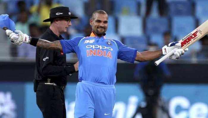 Asia Cup 2018 : हॉन्गकॉन्ग के खिलाफ शतक लगाने वाले तीसरे भारतीय बने शिखर धवन