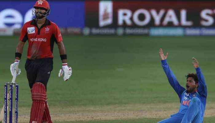 Asia Cup 2018 : भारत ने हॉन्गकॉन्ग को 26 रन से हराया, सुपर-4 में पहुंचा