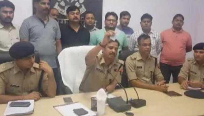 अलीगढ़: 3 साधु समेत 6 हत्याओं का पुलिस ने किया खुलासा, 5 गिरफ्तार