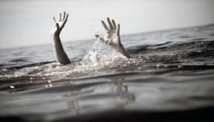 गणेश विसर्जन के दौरान अवैध खदान में डूबे 4 किशोर, मौत