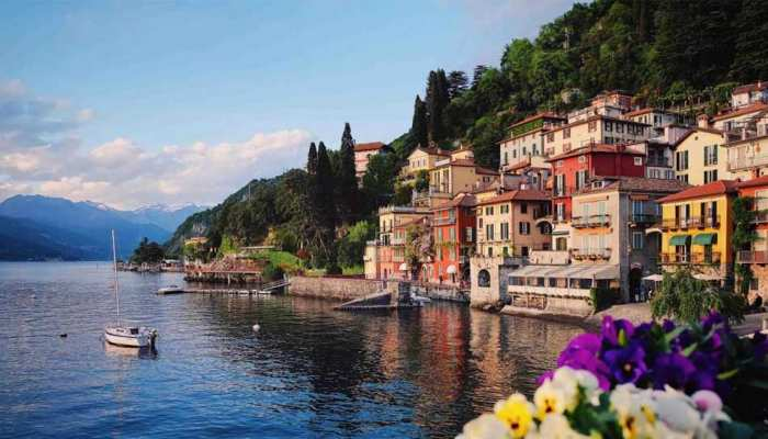 intresting facts of lake como in hindi