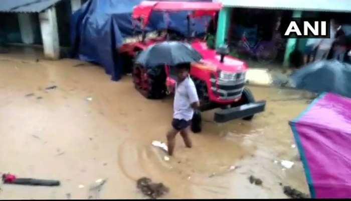 cyclone day crossed odisha coast heavy rain fall in many area of odisha