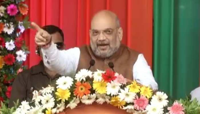 """रायपुर में बोले अमित शाह- """"खुली आंखों से सपने देख रहे हैं राहुल बाबा"""""""