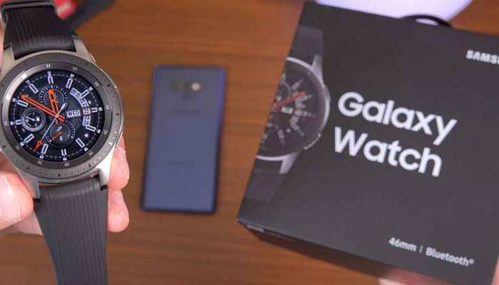 Samsung Galaxy Watch launched in India price starts from 24990 rupees