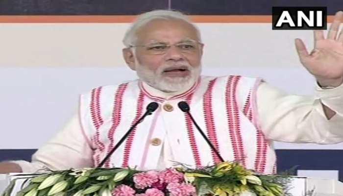 PM मोदी ने देश को दी 'आयुष्मान भारत योजना' की सौगात, कहा- सशक्त होगा गरीब