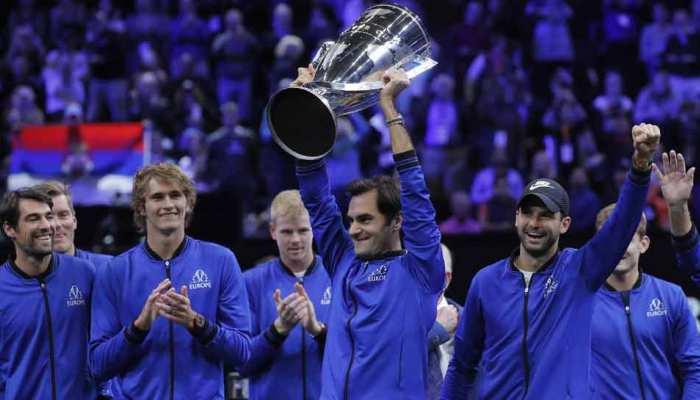 टेनिस : रोजर फेडरर, एलेक्जेंडर ज्वेरेव की जीत से टीम यूरोप ने जीता लेवर कप खिताब