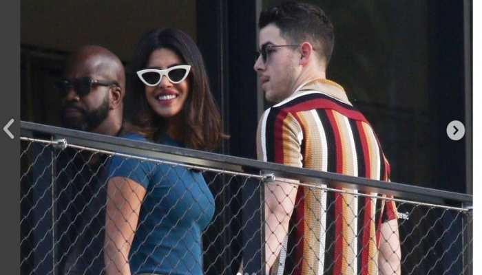 Priyanka Chopra-Nick Jonas and Sonam Kapoor-Anand Ahuja together in Italy