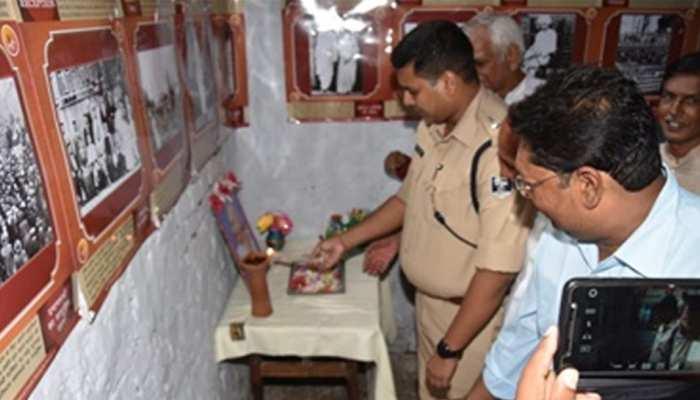 भागलपुर : गांधी जयंती पर चित्र प्रदर्शनी का आयोजन, बच्चों को दिया गया संदेश