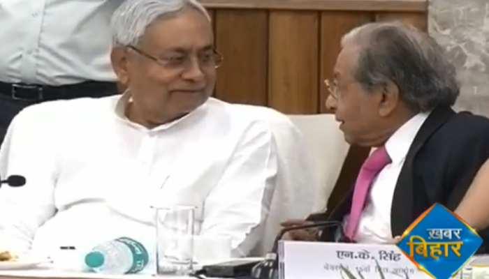 वित्त आयोग के अध्यक्ष कहा- 'बिहार डबल डिजिट कर रहा ग्रोथ, मदद की है जरूरत'