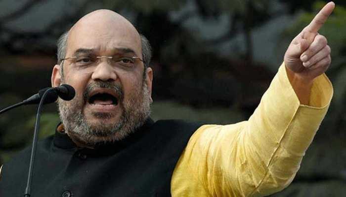 अमित शाह बोले, 'छत्तीसगढ़ में सत्ता के लिए कांग्रेस ने नक्सलियों से किया था गठजोड़'