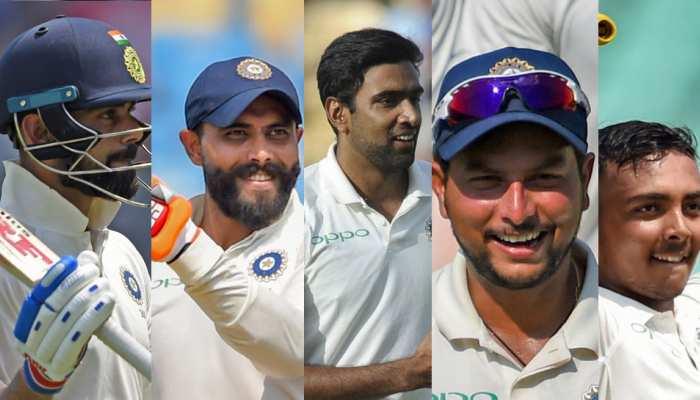 INDvsWI: राजकोट टेस्ट में टीम इंडिया की जीत के 5 हीरो