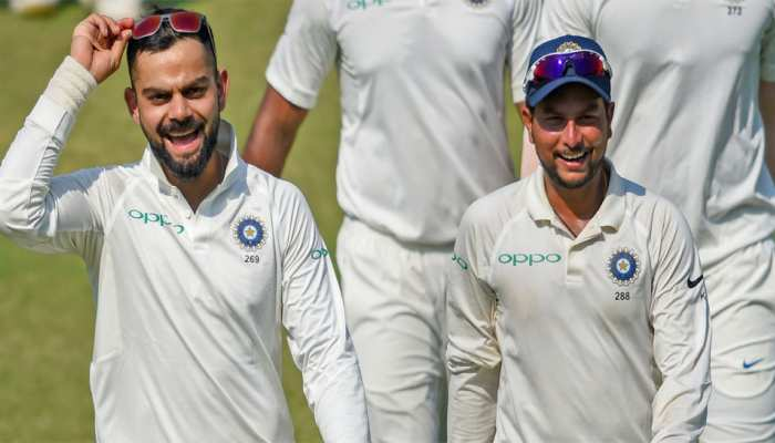 VIDEO: 5 विकेट लेकर कुलदीप ने किया ऐसा कारनामा, जो क्रिकेट इतिहास में आजतक कोई नहीं कर सका