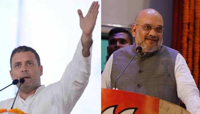 MP चुनाव: डकैतों के गढ़ रहे इलाकों में गरजेंगे राहुल गांधी, नवाबों के शहर में बोलेंगे अमित शाह
