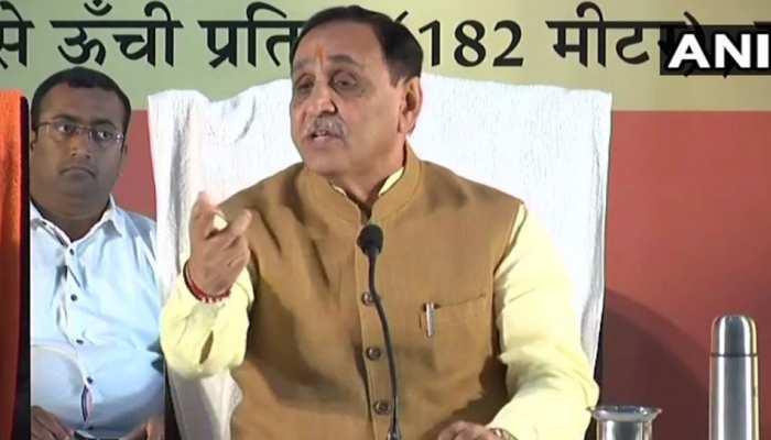 सीएम रुपाणी बोले, 'हमने गैर गुजरातियों की सुरक्षा के कदम उठाए, कांग्रेस बिगाड़ रही माहौल'