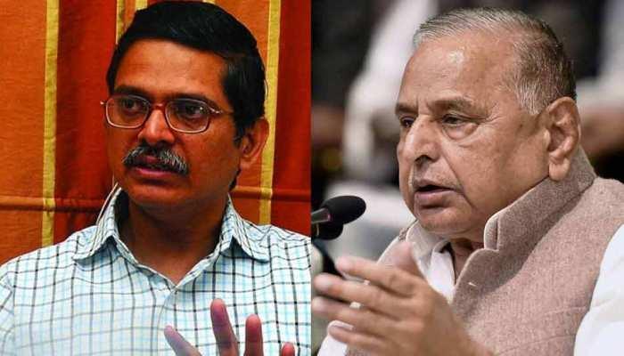 IPS अमिताभ ठाकुर को धमकी देने के मामले में मुलायम सिंह को राहत