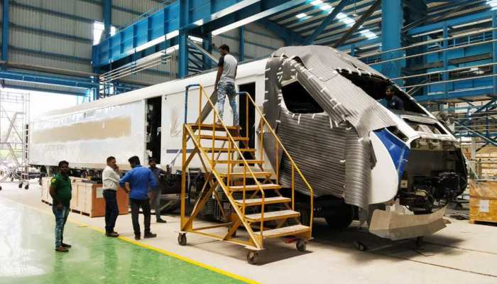 Engine-less train 18 to be launched soon, watch the exclusive pictures