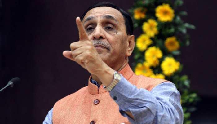 गुजरात हिंसा कांग्रेस विधायक की सुनियोजित साजिश : विजय रूपाणी
