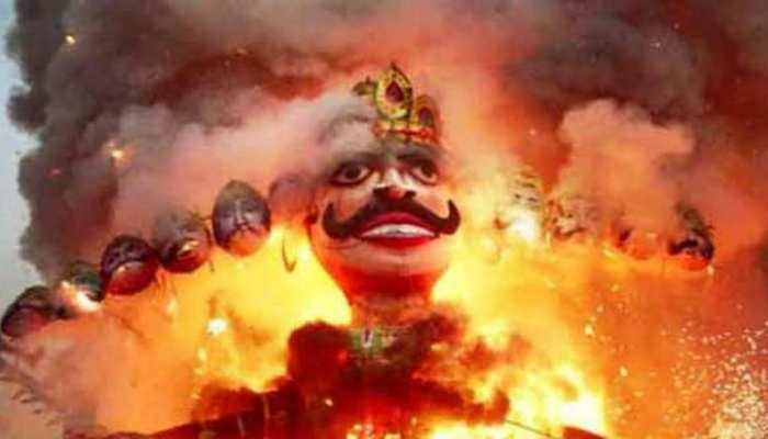 मंदसौर की जनता रावण को मानती है अपना दामाद, दशहरे के दिन होती है महाआरती