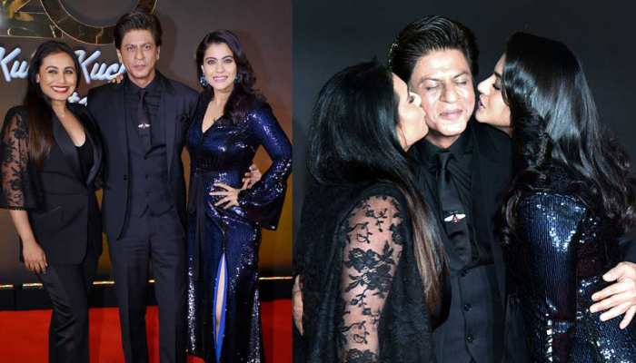 Shah Rukh Khan, kajol and Rani celebrates Kuch Kuch Hota Hai 20 years together
