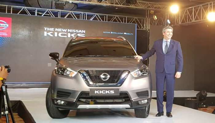 auto news Nissan suv kicks unveiled in india, launch in jan 2019