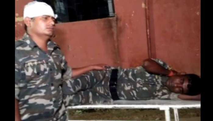पलामू: मूर्ति विर्सजन में झड़प के दौरान पुलिस जवान सहित 11 लोग घायल, 10 वाहन फूंके