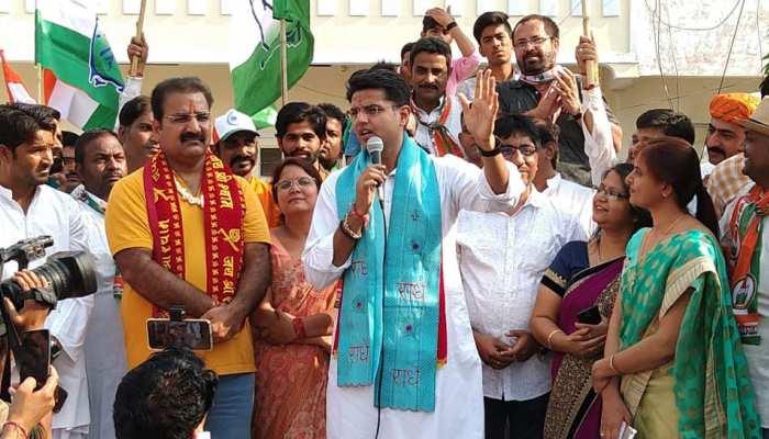 राजस्थान: 51 हजार बूथों पर कांग्रेस का अभियान, सचिन पायलट हुए जनता से रूबरू