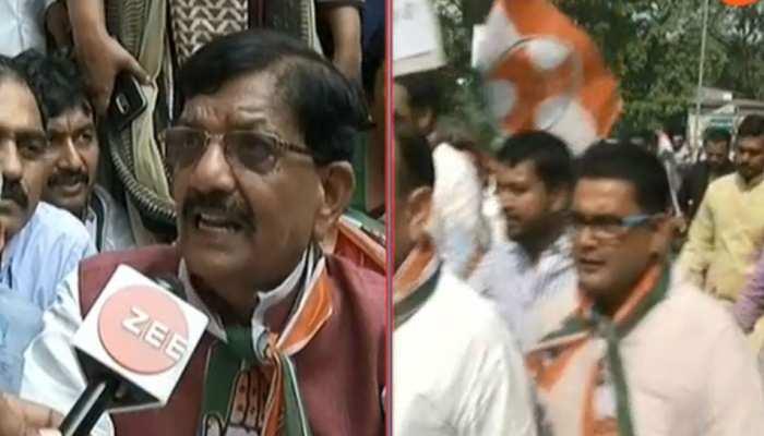 बिहार में कांग्रेस नेताओं ने किया सीबीआई मुख्यालय का घेराव, जमकर किया विरोध