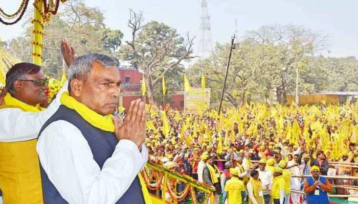 लखनऊ में ओमप्रकाश राजभर की बड़ी रैली आज, तोड़ सकते हैं BJP से नाता!