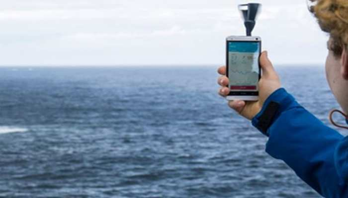 Predictable sudden flooding possible from smartphone
