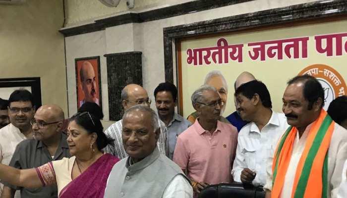 राजस्थान: कांग्रेस को छोड़ फिर BJP में शामिल हुए महेश प्रताप सिंह, कहा- घर वापसी कर खुश हूं