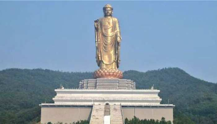 State of unity is the world tallest statue 182 meter