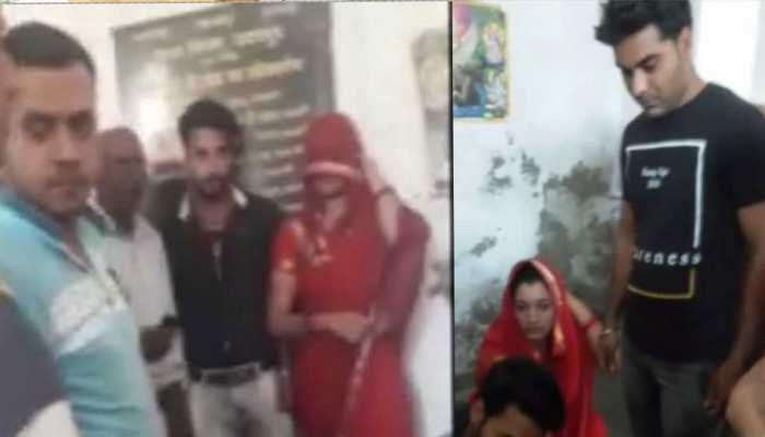 उदयपुर: शर्मनाक! पंचों के सामने विवाहित के मूह पर थूका, तमाशबीन बन देखता रहे लोग!